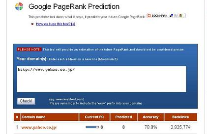 Google PageRank Prediction